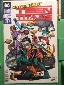 Teen Titans #20 New DC Universe