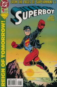 Superboy (3rd Series) #1 FN; DC | save on shipping - details inside