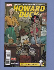 Howard The Duck #1 NM- 1st Appearance of Gwenpool 2016