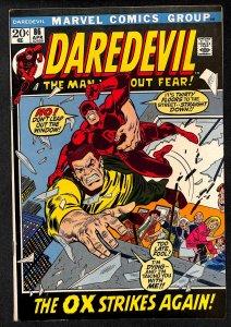 Daredevil #86 FN+ 6.5 Marvel Comics
