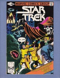 Star Trek #4 VG Spock Kirk Marvel 1980