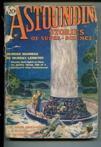 ASTOUNDING STORIES  05/1930-5TH ISSUE-VICTOR ROUSSEAU-MURRAY LEINSTER-HISTORIC-p