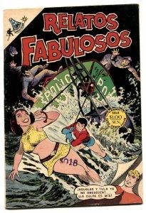 Relatos Fabulosos #115 1969- Aquaman #33 mexican edition F/VF