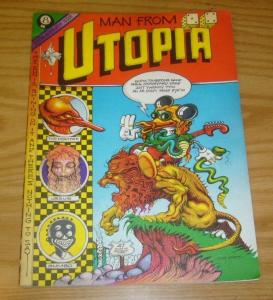 Man From Utopia #1 FN (1st) print RICK GRIFFIN 1972 san francisco underground