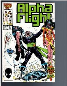 Alpha Flight #37 (1986)