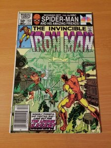 The Invincible Iron Man #153 ~ VERY FINE - NEAR MINT NM ~ (1981, Marvel Comics)