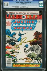 JUSTICE LEAGUE OF AMERICA #132-CGC 9.4 OW/W-NM-SUPERGIRL-QUEEN BEE 0207090009