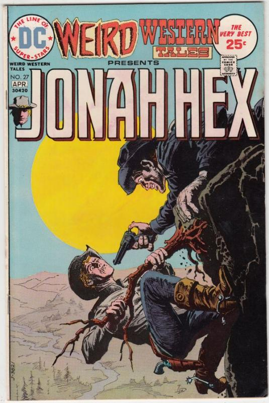 Weird Western Tales #27 (Sep-73) VF- High-Grade Jonah Hex