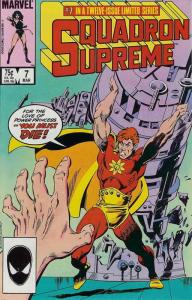 Squadron Supreme #7 VF/NM; Marvel | save on shipping - details inside