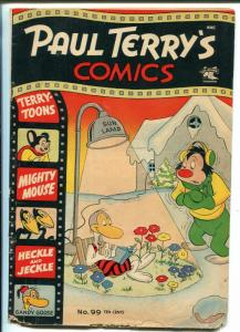 Paul Terry's #99 1953-St John-Mighty Mouse-Heckle & Jeckle-Gandy Goose-FR