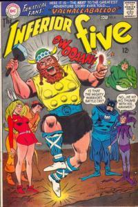 Inferior Five #4 (Oct-67) VF/NM High-Grade Inferior Five (Merry Man, Dumb Bun...