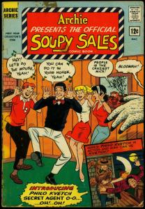 Archie Presents the Official Soupy Sales Comic Book #1 1965 G