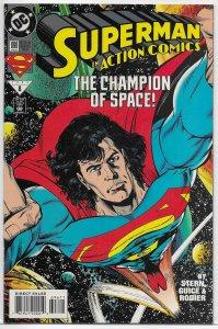 Action Comics   vol. 1   #696 VF/NM