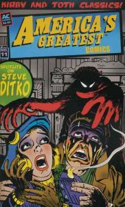 America's Greatest Comics (2nd Series) #11 VG; Bill Black | low grade comic - sa