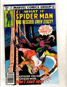 What If ? # 24 NM Marvel Comic Book Gwen Stacy Hadn't Died Spider-Man JF11