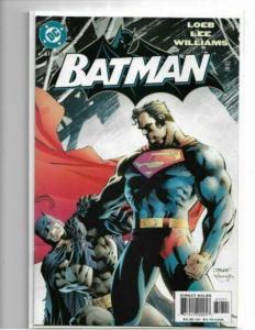 BATMAN #612 - NM/NM+ JIM LEE SUPERMAN/BATMAN - HUSH - HIGH GRADE MODERN AGE KEY