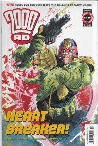 2000 AD #1272 FN Judge Dredd, Future Shocks, Sinister Dexter, Anderson