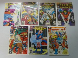 What If? Intergalactic set 13 different issues 8.0 VF