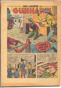 Gunhawk #18 1951-Atlas-final issue-Phil Rizzuto-violent western-Wheaties-P