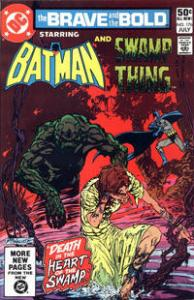 DC Comics The Brave and the Bold #176 Batman and Swamp Thing VF+