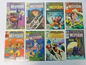 Marvel Comics Presents Wolverine lot - 84 diff books avg 8.0VF from #1-133(1988)