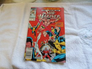 1989 THE SAGA OF THE SUB MARINER # 9