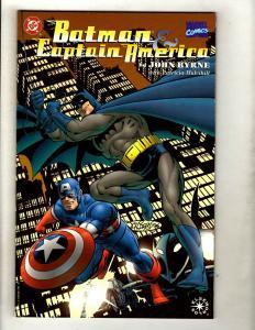 4 DC Marvel Dark Horse Graphic Novels Batman Captain America SpiderMan Dredd GK5