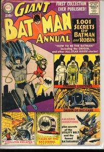 Batman Annual #1 (1961)