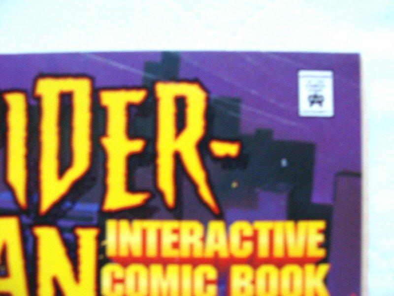 Spider-Man Interactive Comic Books (1996) Dr. Octopus & Hobgoblin LOT of 2