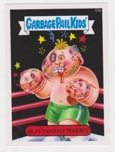 2015 Garbage Pail Kids #45b Heavyweight Harry