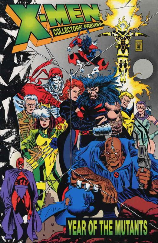 X-Men: Year of the Mutants Collector's Preview #1 VF/NM; Marvel | save on shippi