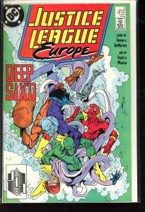Justice League Europe #2 (1989)