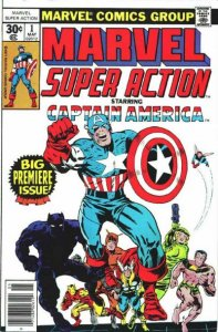Marvel Super Action #1 (ungraded) stock photo