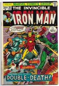 Iron Man #58 (1973) VG-FN