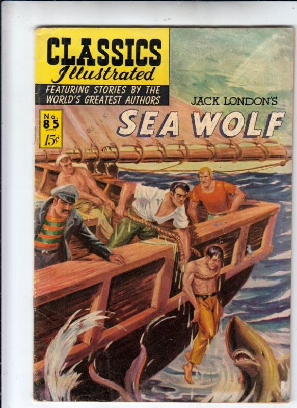 Classics Illustrated #85 (Jul-51) FN- Mid-Grade