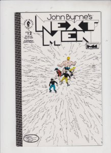 NEXT MEN [ JOHN BYRNE'S ] #12 1993 DARKHORSE / HIGH