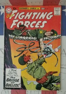 1960 Our Fighting Forces #56 VG+ SILVER AGE Gunner and Sarge Buy It