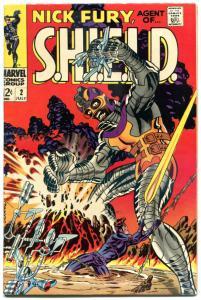 NICK FURY, AGENT of SHIELD #2, VF, Jim Steranko, 1968, more SILVER AGE in store