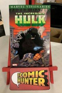 Marvel Visionaries Incredible Hulk Vol 1 2005 Paperback Peter David