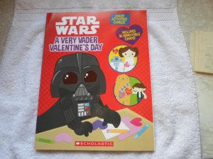 2013 SCHOLASTIC MAG. STAR WARS A VERY VADER VALTINESDAY CARDS.
