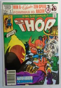 Thor (1st Series) Annual #9, Newsstand Edition 8.0/VF (1981)