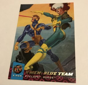 X-MEN BLUE TEAM #144 card : '94 FLEER ULTRA X-MEN, NM/M, Rouge & Cyclops