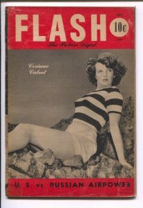 Flash-The Picture Digest #1 9/1950-Corinne Calvert photo cover-cheesecake-1st...