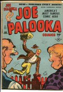 JOE PALOOKA COMICS #11-BOXING-HAM FISHER poor