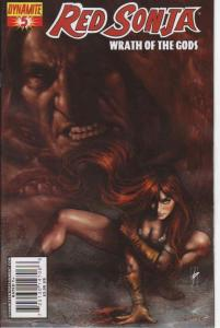 Red Sonja: Wrath of the Gods #5 FN; Dynamite | save on shipping - details inside