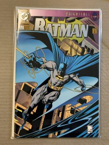 1993 Collector's Edition With Die Cut Double Cover With Foil Batman Number 500