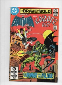 BRAVE and the BOLD #198, NM-, Batman, Karate Kid, 1955 1983, more in store