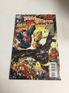 Teen Titans 50 Variant Nm Near Mint DC Comics