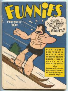 Funnies #17 1938- 1st ALLEY OOP cover- Rare Early comic VG