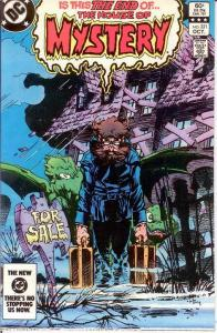 HOUSE OF MYSTERY 321 VF+  October 1983 COMICS BOOK